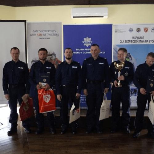Sukces małopolskich policjantów na III Ogólnopolskich Zawodach Narciarskich dla funkcjonariuszy Policji