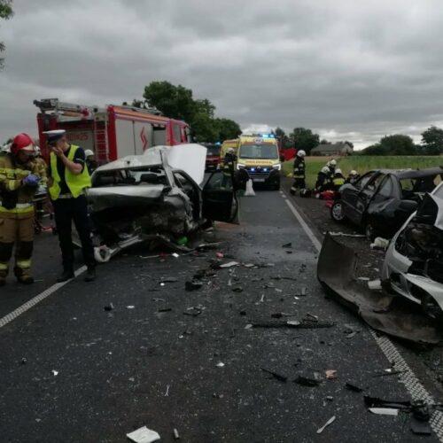 Tragiczny wypadek na DK74