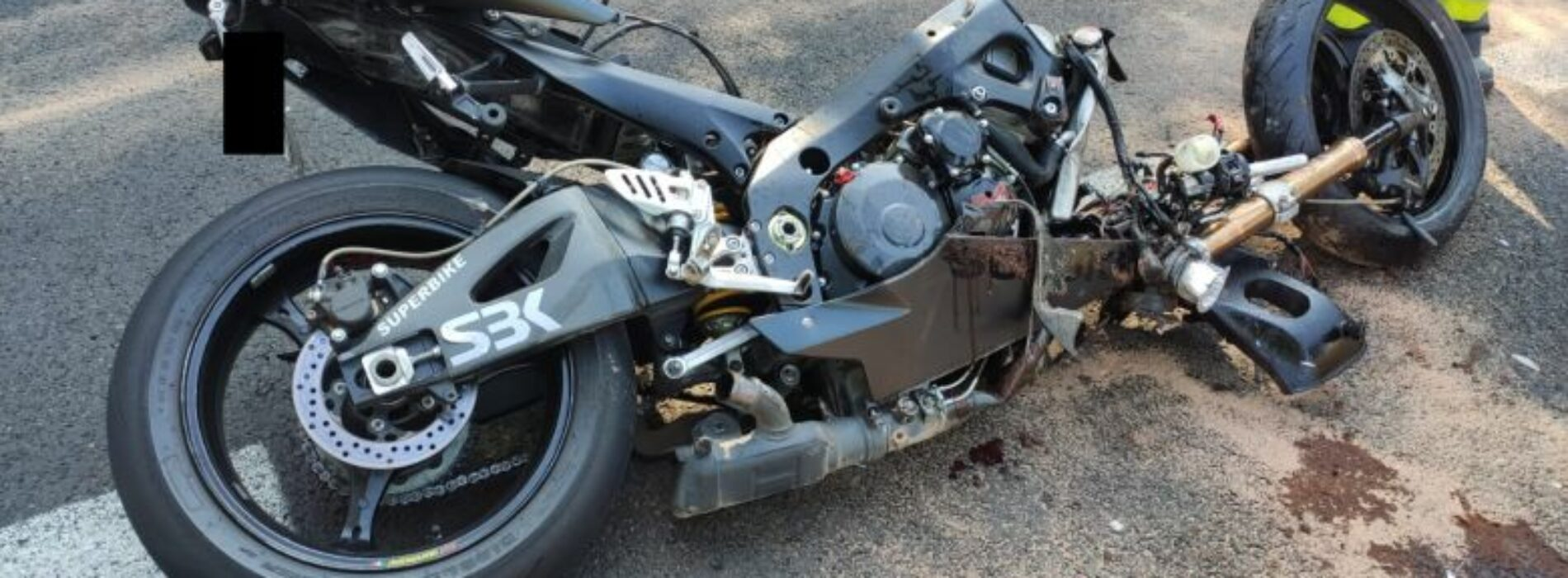 Tragiczny wypadek motocyklisty
